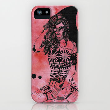 Cancer - Hand drawn iPhone & iPod Case by Heaven7 | Society6