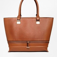New Look Lola Shopper Bag In TAn