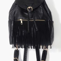 Fringed Backpack