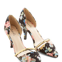 ModCloth Darling Arrange the Itinerary Heel