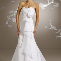 Buy Appealing Sheath Sweetheart Court Train Wedding Dress under 200-SinoAnt.com