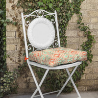Pattern State Tile Tribe Southwest Outdoor Seat Cushion