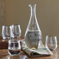L'EAU CLAIRE CARAFE & TUMBLER SET - Summer's Favorites - For the Home | Robert Redford's Sundance Catalog