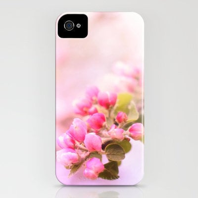 Pink Appleblossom iPhone Case by M✿nika  Strigel	 | Society6