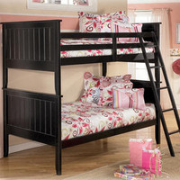 Platt Grove Black Bunk Bed
