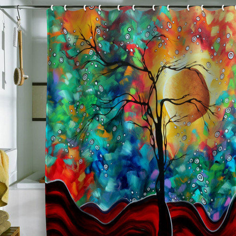 DENY Designs Home Accessories | Madart Inc. Bursting Forth Shower Curtain