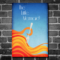 Disney Art The Little Mermaid Poster movie poster disney poster 11x17