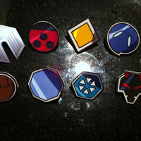 Johto League  / Gen II Pokemon Badge Set