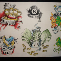 No luck flash sheet