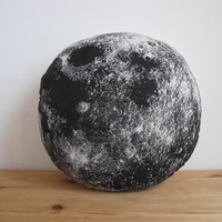 Plush Moon Pillow