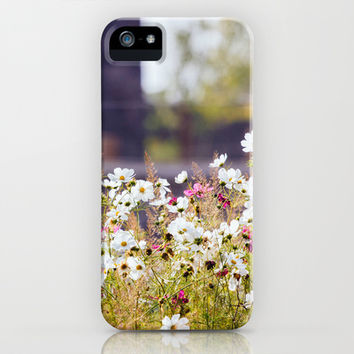 Wild Flower Field iPhone & iPod Case by Pati Designs | Society6