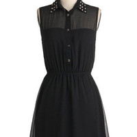 As Noir as Im Concerned Dress | Mod Retro Vintage Dresses | ModCloth.com