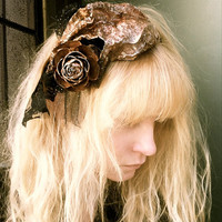 Unique Woodland Headband - Woman headbands - Woodland Hair Accessories - Cedar Rose
