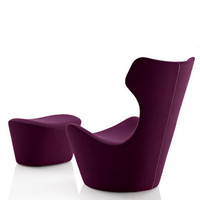 Limn modern furniture & design: Furniture - B&B Italia - Naoto Fukasawa - Grande Papilio Armchair & Ottoman