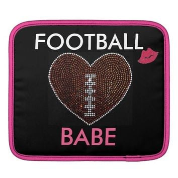 Bling Football iPad Sleeve