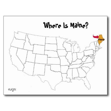 Where Is Maine?