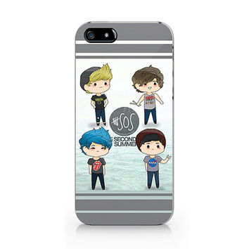 A-204 -  5 Second of Summer  iPhone 4/4S case, iPhone 5/5S case