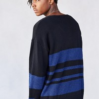 Your Neighbors Boucle Stripe Pullover Sweater - Urban Outfitters
