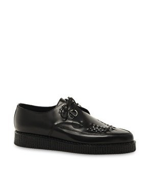 Underground Barfly Suede Creeper Shoes at asos.com