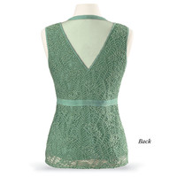 Ribbon and Lace Top - Women's Clothing & Symbolic Jewelry – Sexy, Fantasy, Romantic Fashions
