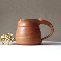Art Pottery Creamer