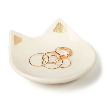 Catbird :: WHAT'S NEW: home, gifts & beauty :: Kitten Keepy Ring Dish