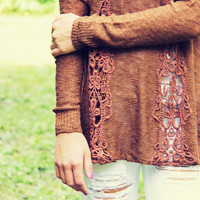 The Rusted Canyon Sweater
