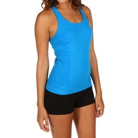 Turquoise Workout Tank Top