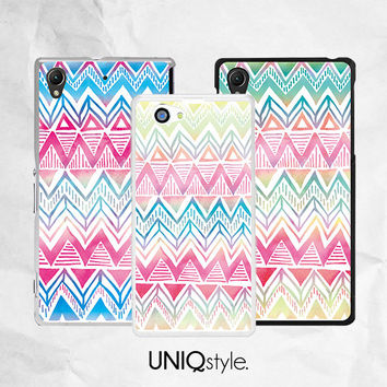 Aztec Case Tribal Case for Sony - colorful aztec tribal phone case for Sony Xperia Z, Z1, Z2, Z1s, Z1 compact, Xperia M, M2  - L16