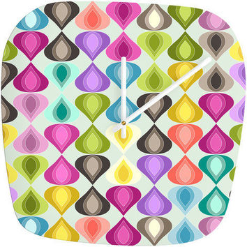 Sharon Turner Candy Gouttelette Modern Clock