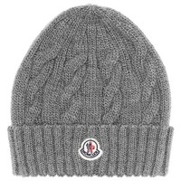 Moncler Cable Knit Beanie (Big Girls)