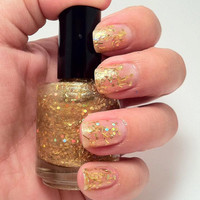 Golden Goddess - Unique Hand Mixed Nail Polish/Lacquer in a Full Sized Botttle