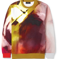 Givenchy - Abstract-Print Cotton Sweatshirt | MR PORTER