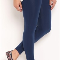 Plus Size Basic Seamless Leggings