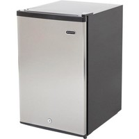 Whynter - 2.1 cu. ft. Energy Star Stainless Steel Upright Freezer with Lock