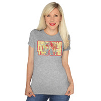 More Than Meets the Eye Glow-In-The-Dark Ladies' Tee - Heather,