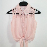 Picks by Nina | Cage - light pink | Online Store Powered by Storenvy