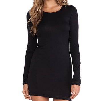 Obey Courson Dress in Black
