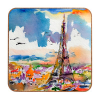Ginette Fine Art Under Paris Skies Wall Art