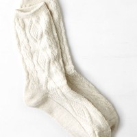 AEO Women's Shimmery Sock