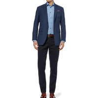 Richard James - Slim-Fit End-On-End Cotton Shirt | MR PORTER