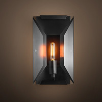 Harlow Crystal Sconce - Grey Iron