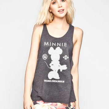 Neff Disney Collection Minnie Stand Up Womens Tank Grey  In Sizes