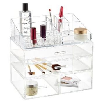 Luxe Acrylic Modular System   The Container Store