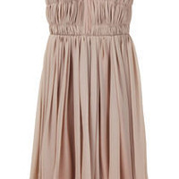 Fancy - Carven / Silk Chiffon Bustier Dress | La Garçonne