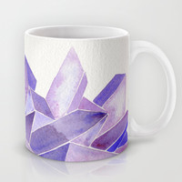 Amethyst Watercolor Mug by Cat Coquillette