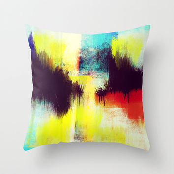 A Subdued Trance Throw Pillow by Timothy Davis