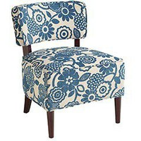 Cadman Chair - Teal Floral