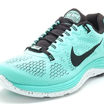 Nike Lunarlon For Women,s Black/Green Color (12)