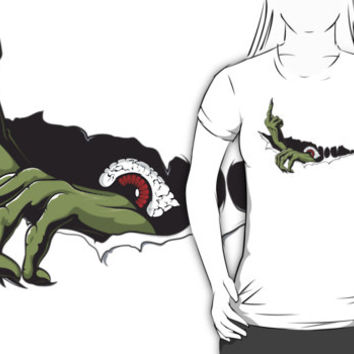 Rude Monster In Your T Shirt